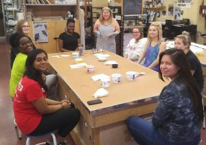 #ConvoPlate Painting with Brock students